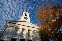 Chiesa cristiana della Comunità della Nuova Inghilterra Fotografia Stock Libera da Diritti