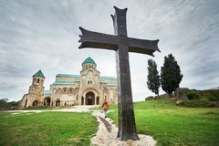 Chiesa cristiana in Georgia immagine stock