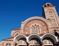 Chiesa cristiana in Grecia Fotografie Stock
