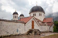 Chiesa cristiana in Kotor Fotografia Stock