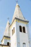 Chiesa cristiana nel centro di Liznjan Immagine Stock Libera da Diritti