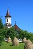 Chiesa cristiana nel paese di Bucovina immagine stock