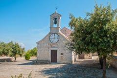 Chiesa croata Fotografia Stock Libera da Diritti