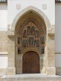 Chiesa croata di St Mark Fotografia Stock Libera da Diritti