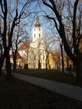 Chiesa in Croazia Vinkovci Immagini Stock