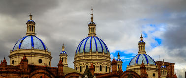 Chiesa a Cuenca (Ecuador) Fotografie Stock Libere da Diritti