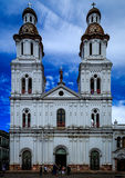 Chiesa a Cuenca (Ecuador) Immagine Stock Libera da Diritti