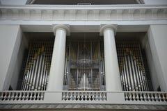 Chiesa in cui il principe ereditario Frederik e Maria si è sposato Fotografia Stock