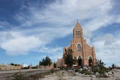 Chiesa in curacau fotografia stock libera da diritti