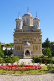 Chiesa in Curtea de Arges, Romania Immagine Stock