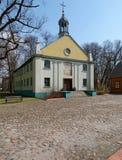 Chiesa dal museo all'aperto Immagine Stock