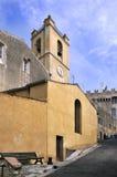 Chiesa dal sur Mer di Cagnes in Francia Fotografia Stock