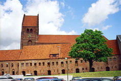 Chiesa in Danimarca Fotografie Stock