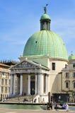 Chiesa DE San Simeone Piccolo in Venetië, Italië royalty-vrije stock fotografie