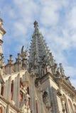 Chiesa dedicata nello stile gotico Immagini Stock Libere da Diritti