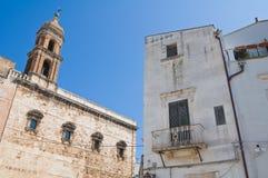 Chiesa degli ss. Cosma e Damiano. Conversano. La Puglia. L'Italia. Immagine Stock Libera da Diritti