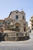 Chiesa degli ss. Faustino e Giovita. Viterbo. Il Lazio. L'Italia. Fotografie Stock Libere da Diritti