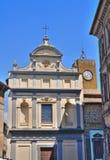 Chiesa degli ss. Giuseppe e Giacomo. Orvieto. L'Umbria. L'Italia. Immagini Stock Libere da Diritti