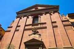 Chiesa degli ss. Gregorio e Sirio. Bologna. L'Emilia Romagna. L'Italia. Immagini Stock Libere da Diritti