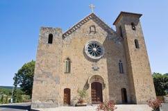 Chiesa degli ss. Salvatore. Bolsena. Il Lazio. L'Italia. Fotografia Stock Libera da Diritti