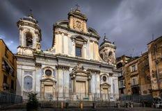 Chiesa dei Girolamini Royalty Free Stock Photo