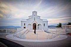 Chiesa dei martiri del croato in Udbina Fotografia Stock Libera da Diritti