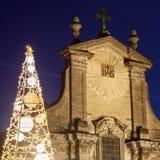 Chiesa dei san Peter e Paul su Veemarkt in Malines fotografia stock