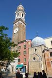 Chiesa-dei Santi Apostoli in Venedig stockbild