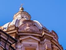 Chiesa dei Santi Luca e Martina, dome Royalty Free Stock Photo