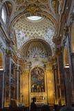 Chiesa deifrancesi, kyrka i Rome royaltyfria bilder