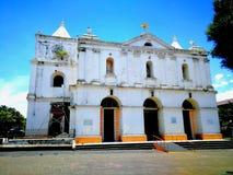 Chiesa del ³ n di Inmaculada ConcepciÃ, Heredia, Costa Rica fotografia stock libera da diritti