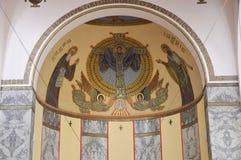Chiesa del all'Aventino di Sant Anselmo, Roma Fotografie Stock Libere da Diritti