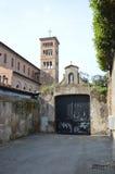 Chiesa del all'Aventino di Sant Anselmo, Roma Fotografia Stock Libera da Diritti