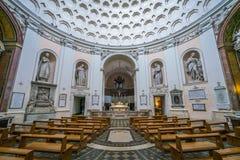 Chiesa del alle Terme di San Bernardo a Roma, Italia fotografie stock libere da diritti