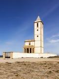 Chiesa del Almadabra, provincia di Almeria, Spagna Fotografia Stock Libera da Diritti