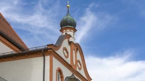 Chiesa del Andechs stock footage