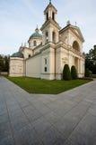 Chiesa del Anne santo in Wilanow Fotografie Stock