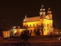 Chiesa del arkangel di Vilnius Fotografie Stock