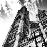 Chiesa del campanile Fotografia Stock