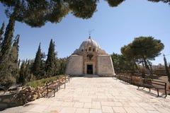 Chiesa del campo dei pastori di Betlemme Fotografia Stock