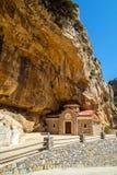 Chiesa del canyon di Kotsifou Immagini Stock Libere da Diritti