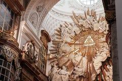 Chiesa del Charles santo Vienna, Austria Immagine Stock