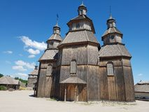 Chiesa del cosacco Fotografia Stock