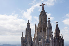 Chiesa del cuore sacro di Jesus Immagini Stock Libere da Diritti