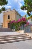 Chiesa del della Libera di Madonna. Rodi Garganico. La Puglia. L'Italia. Immagini Stock