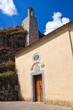 Chiesa del della Rocca di Madonna Satriano di Lucania L'Italia Immagini Stock Libere da Diritti