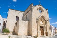 Chiesa del della Strada di Madonna. Taurisano. La Puglia. L'Italia. Fotografie Stock