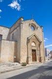Chiesa del della Strada di Madonna. Taurisano. La Puglia. L'Italia. Immagine Stock