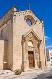 Chiesa del della Strada di Madonna. Taurisano. La Puglia. L'Italia. Immagini Stock