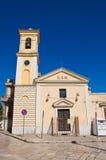 Chiesa del della Strada di Madonna Torremaggiore La Puglia L'Italia Fotografie Stock